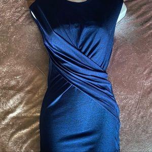 Alexander Wang Blue Sleeveless Twist Tunic Small